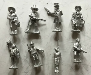 Wargames Foundry 28mm Wild West Assorted Cowboys (8 Figures)