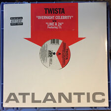 TWISTA - Overnight Celebrity / Like A 24 [12 inch vinyl] single SEALED New 2000s