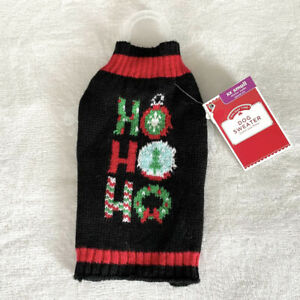Simply dog Holiday Time pullover dog sweater