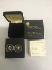 Ireland 2006 Samuel Beckett Gold €20 Coin Proof Set - Free UK P&P
