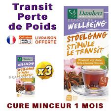 Damhert 3 Boites Tisane Laxative Cure 1 Mois Minceur Régime Thé Détox Transit