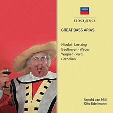 Great Bass Arias: Nicolai, Lortzing, Beethoven - Arnold Van Mill, Otto  (NEW CD)