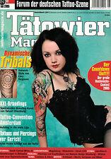 Tätowier Magazin 8/2005 August,geheimnisvolle Schlüssel Motive,Cowboys & Aliens,