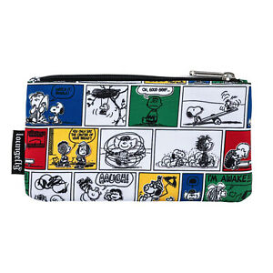 Loungefly Peanuts Comic Strip Nylon Pouch NEW IN STOCK