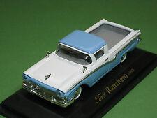 FORD Ranchero 1957 Bianco/Blu Yat Ming Road Signature 1:43 OVP Oldtimer Us-CAR