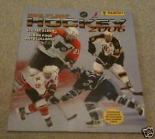 2005-06 Panini NHL Hockey Unused Empty Sticker Album