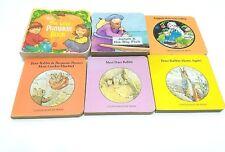 Lot Of Six Mini Books Chatham River Press & Others Children Pumpkin Jonah Rabbit