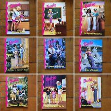 Vintage Barbie Hardback Book Bundle 1990s x9 Collectible Skipper Memorabilia