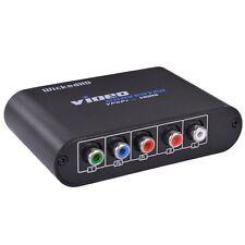 WickedHD YPbPr/RGB L/R Audio to HDMI Converter (Black)