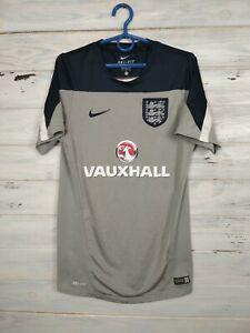 England Jersey Training SMALL Shirt Mens Trikot Camiseta Maglia Nike 587906-051