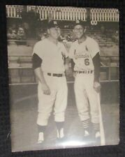 "Vintage Mickey Mantle & Stan Musial 11x14"" Promo Print FN 6.0"