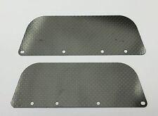 ARRMA 1/8 TALION CARBON FIBER REAR WHEEL GUARDS (2) XTR12373 6S BRUSHLESS TRUGGY