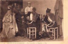 CPA GUERRE 14-18 WW1 PATRIOTIQUE FANTAISIE les cuirassiers tableau REGAMEY LL