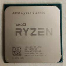 AMD Ryzen 5 2400g w/ Vega11 -3.6Ghz-3.9GHZ Turbo AM4 CPU