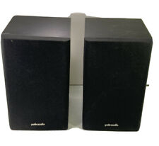 SUPERLATIVE PAIR OF POLK AUDIO BOOKSHELF SPEAKERS - AUDIOPHILE QUALITY - R1