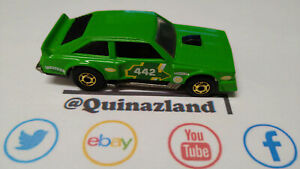 Hot Wheels Flat Out 442 1984 Malaysia (CL23)