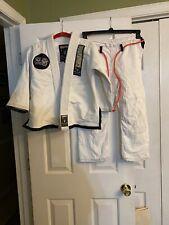 Kids Girls Boys Size M2 Flo Brazilian Jiu Jitsu Gi Uniform: Top, Pants & Belt