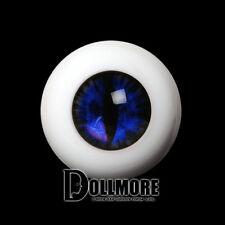 Dollmore BJD Doll Acrylic Eyes 26mm - OMeta Half Round Acrylic Eyes(D.Blue 01)