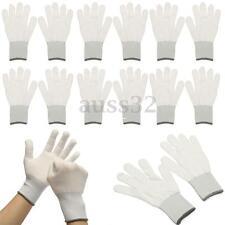 6 Pair White Wrapping Glove Dedicate Tools Car Wrap Vinyl Sticker Window Film