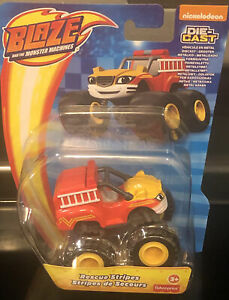 Fisher Price Blaze & the Monster Machines Rescue Stripes Diecast Car
