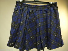 Zara Cotton Pleated, Kilt Skirts for Women
