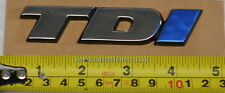 TDI Heck Emblem Chrom Weiß Blau I für VW TRANSPORTER T4 91>2004 + beliebige TDI