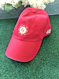 Ben Hogan with American Flag embroidery Red Golf Hat/Adjustable/Free Ship
