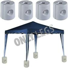 New 4 PK Garden Gazebo Foot Leg Feet Weights Sand For Tent Market Stall Marquee