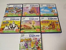 7 Leapfrog Leapster Explorer Learning Games in Original Cases
