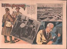 FOR MILITARY VIN PRIMEUR NOUVEAU FRENCH WINE WAR  WWII ILLUSTRATION 1939