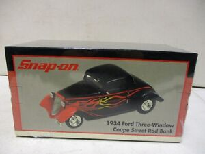 2001 Crown Premiums Snap-On 1934 Ford 3 Window Coupe Street Rod Bank