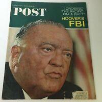 VTG The Saturday Evening Post September 25 1965 - John Edgar Hoover's FBI