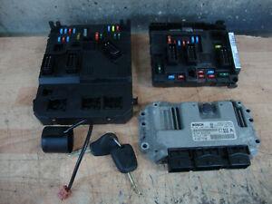2005 CITROEN PICASSO 1.6 KFU PETROL ECU KIT 0261208908 9659317780 BSI BSM