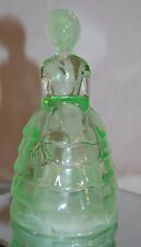 SUMMIT ART MELANIE SOUTHERN BELLE GLASS FIGURINE **FREE SHIPPING** GREEN