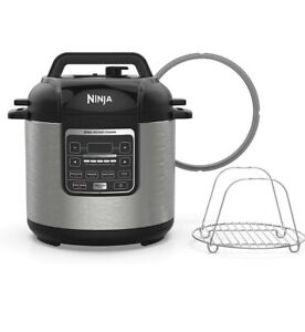 NINJA PC101 1000W Slow Pressure Multi Cooker - and Steamer with 6-Quart Pot