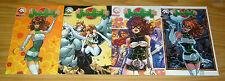 "Judo Girl #1-4 VF/NM complete series - all ""B"" variants - alias comics bad girl"