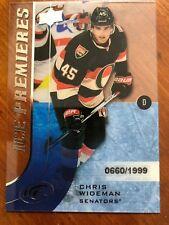 2015-16 UD Ice Premiers Rookie #135 Chris Wideman /1999