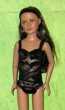 "Custom Ready2Wear Black Lace Teddy Outfit Fit 12"" Tonner's Marley Agnes RENESMEE"
