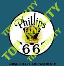 PHILLIPS 66 GASOLINE VINYL STICKER A502