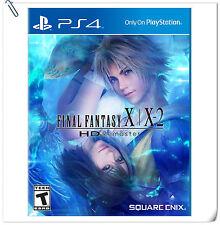 2 IN 1 PS4 FINAL FANTASY X / X-2 HD REMASTER ENG / 最终幻想 中文 RPG Games Square Enix