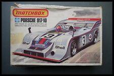 Matchbox 1:32 Porsche 917-10 Model Kit Two Colour Kit (1975) Complete