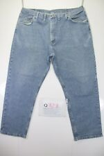 Wrangler relaxed fit big size  (Cod.Q323) Tg58  W44  L30  jeans usato.