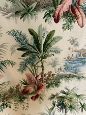 Pierre frey Alexandrie Fabric Botanical Floral Oriental Empire French Cotton 6m