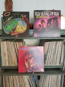 Ten Years After 3 LP Record Lot G/G