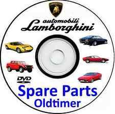 Workshop+Spare parts Manual Lamborghini Miura,Jalpa,Urraco,LM002,Jarama