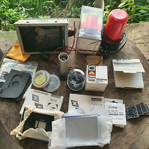Complete Darkroom kit: Meopta Opemus 4 enlarger, lights, timers, contacts...