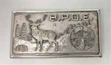 Vintage Elks - B.P.O.E. Money Clip with Hidden Knife and Nail File Really Nice