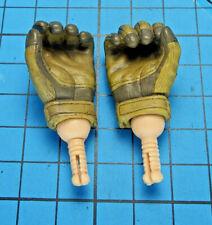 Sideshow 1:6 G.I. Joe Commander Hawk Figure- Hand Pegs + Gloved Hold Weapon Palm