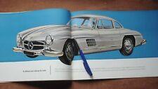 1955 original vintage catalogue Mercedes 300 sl- papillon