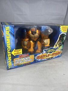 Transformers Beast Machines Mega Blast Punch Optimus Primal Gorilla 2000 Hasbro
